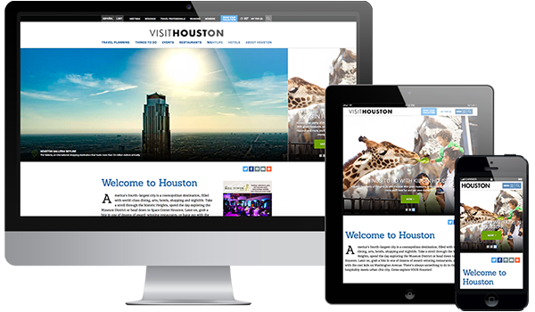 Houston Responsive Layout
