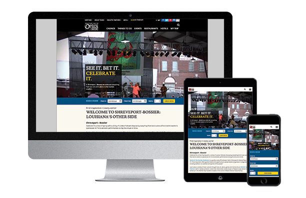 Shreveport Responsive Layout
