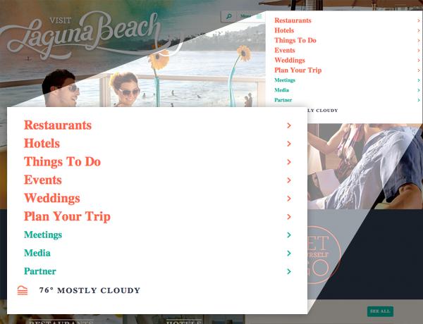 Visit Laguna Beach Navigation