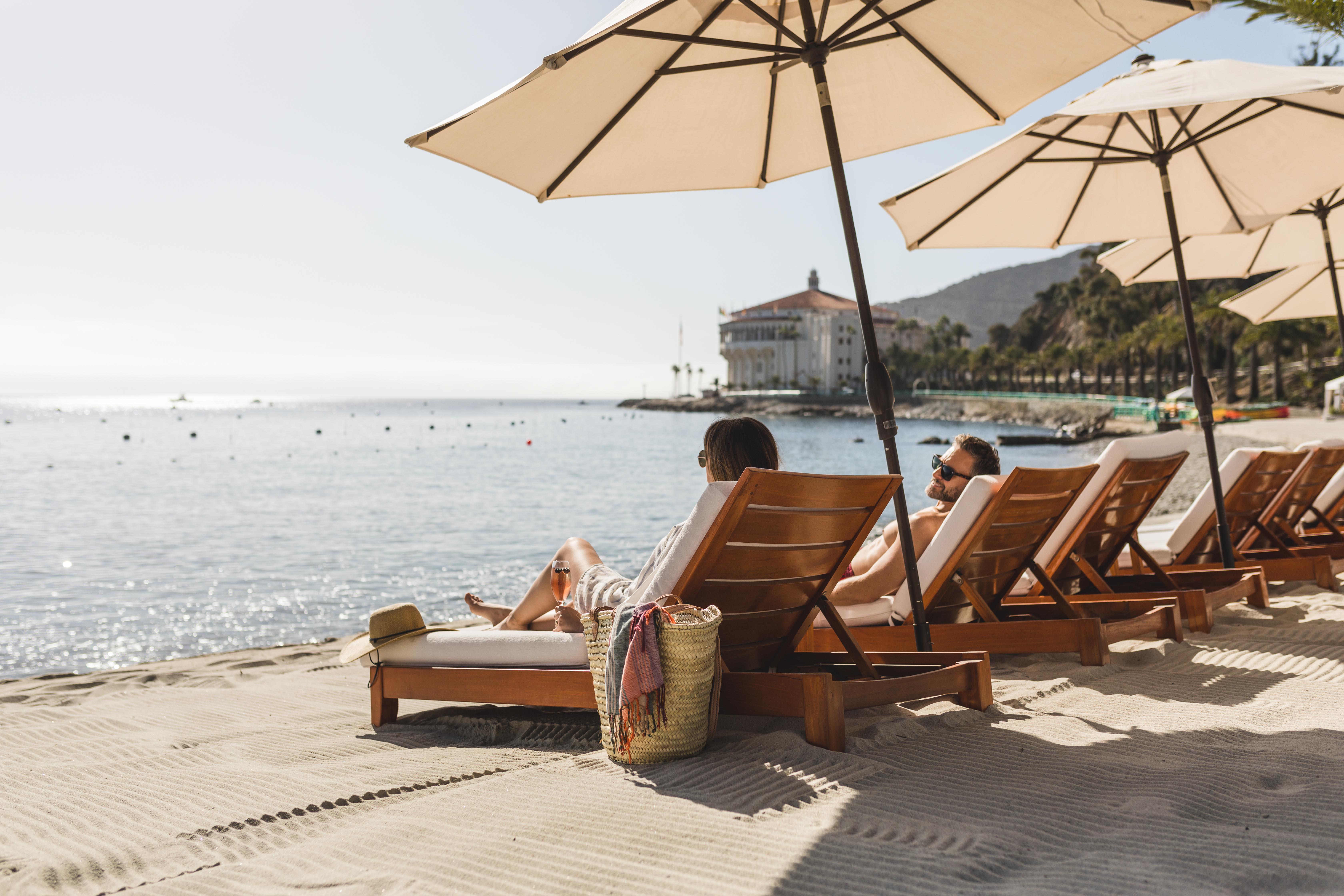 Descanso Beach Club on Catalina Island   Beach & Activities