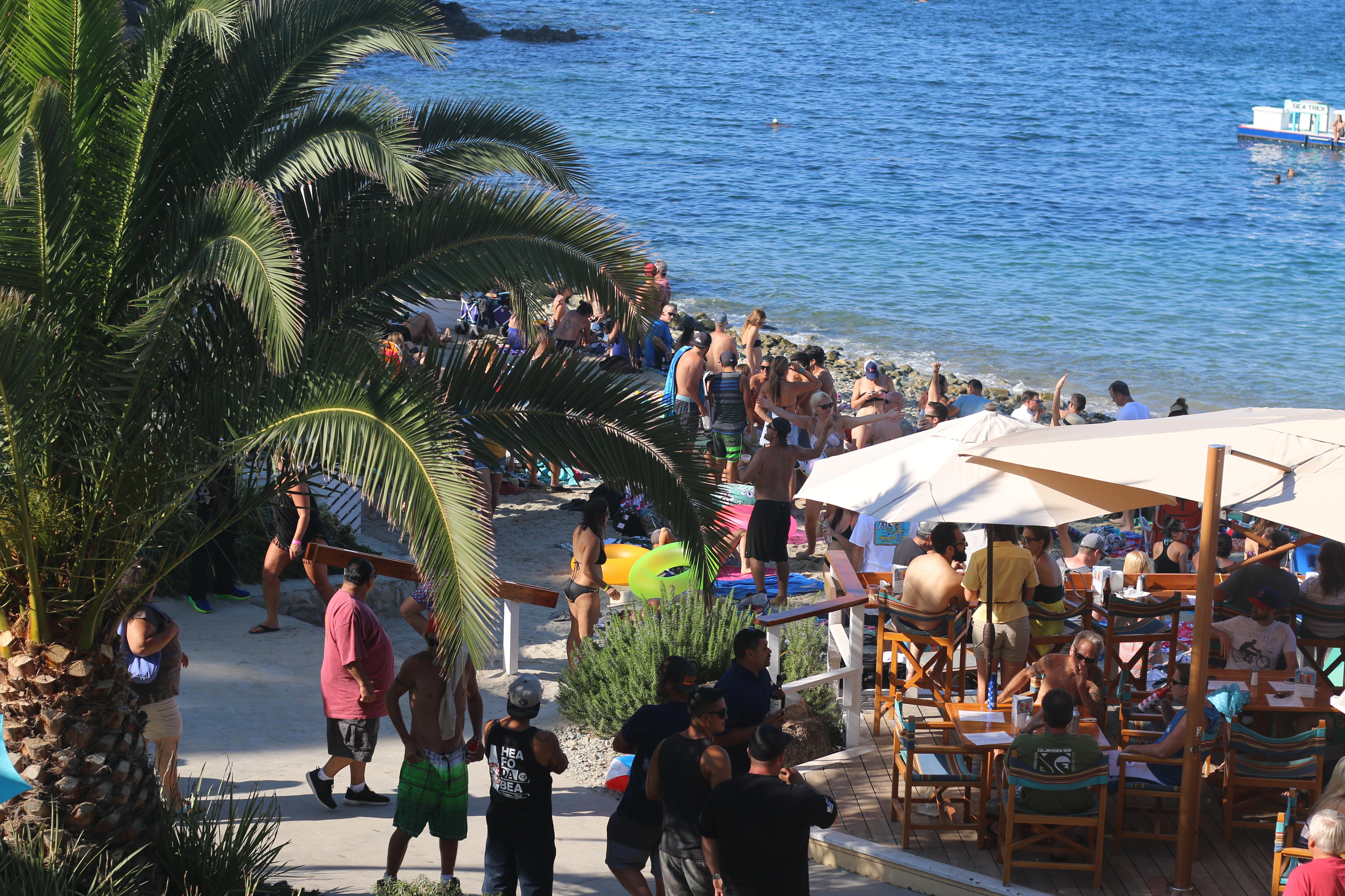 Descanso Beach Club Summer Beach Parties | Visit Catalina Island