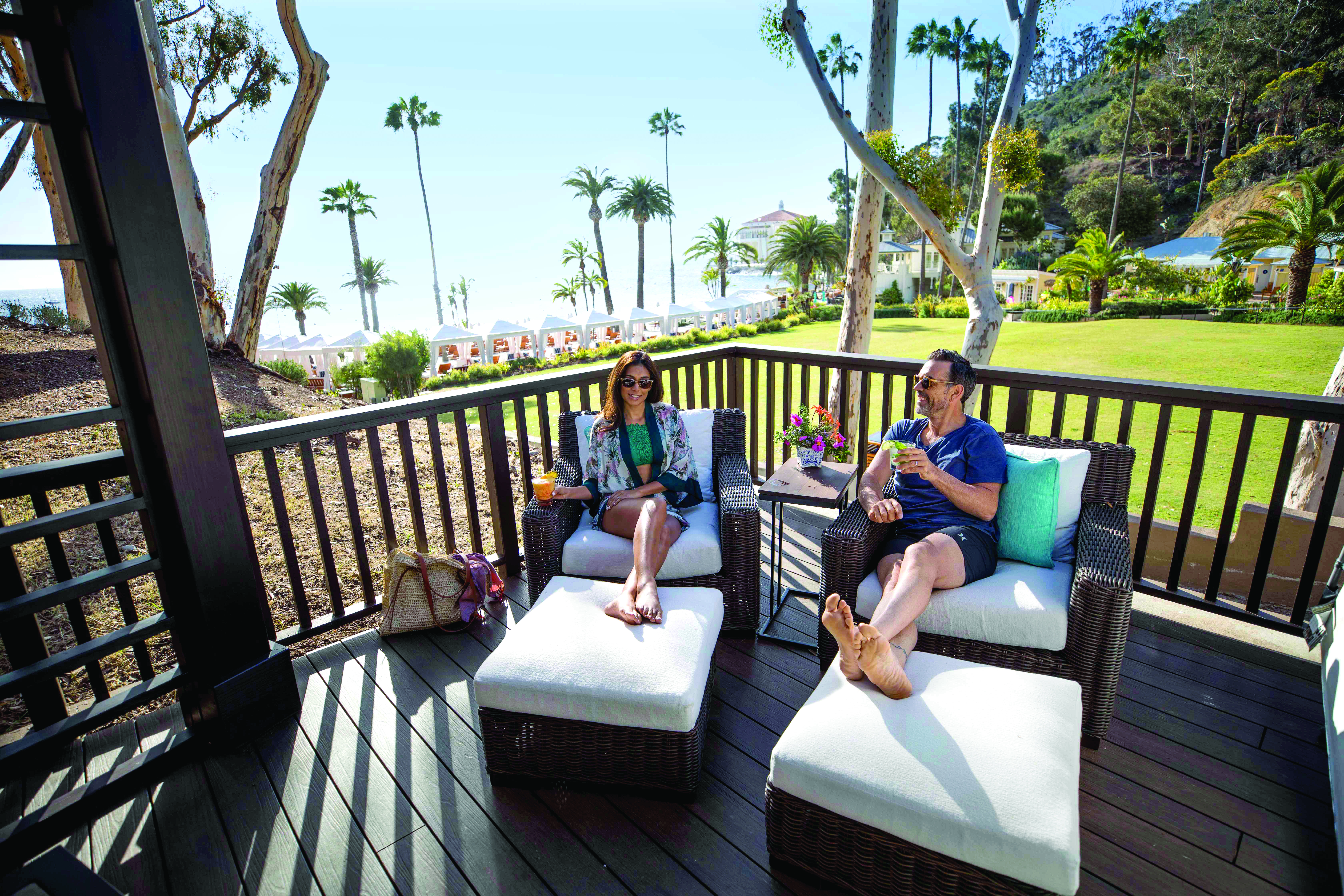 Awesome Descanso Beach Club Cabana Rentals Catalina Island Cabanas Gmtry Best Dining Table And Chair Ideas Images Gmtryco