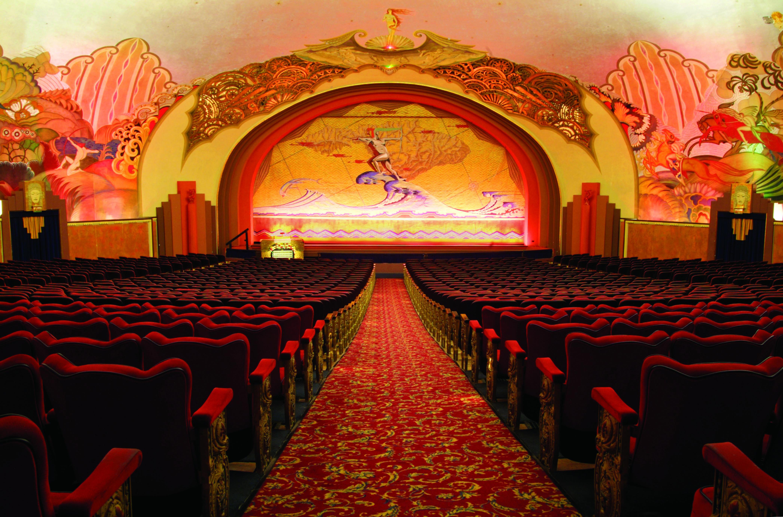 Avalon Theatre Historic Catalina Island Movie Theater