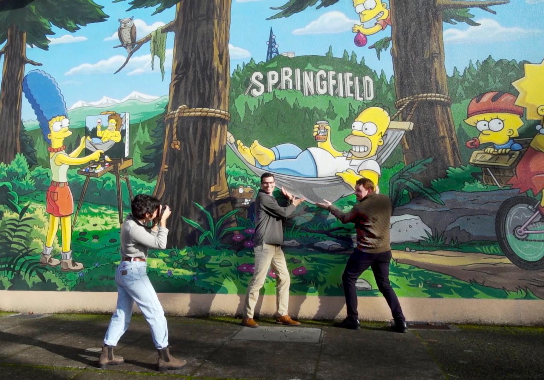 Unofficial Simpsons Tour Springfield Oregon Eugene Cascades Oregon Coast