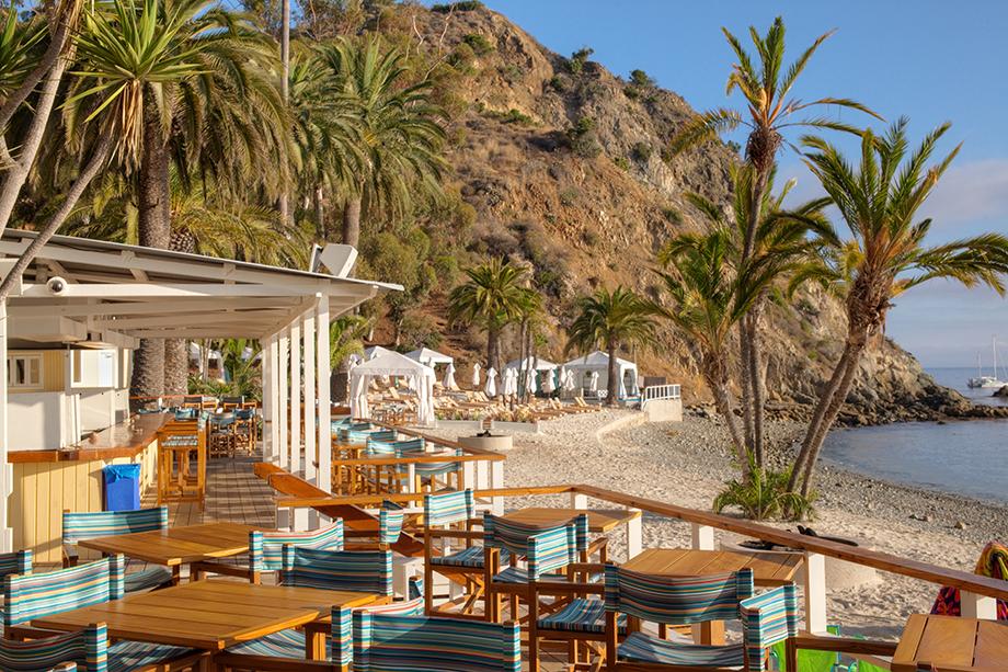 Descanso Beach Club on Catalina Island | Beach & Activities