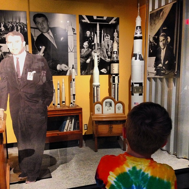 Pure awe at the U.S. Space & Rocket Center