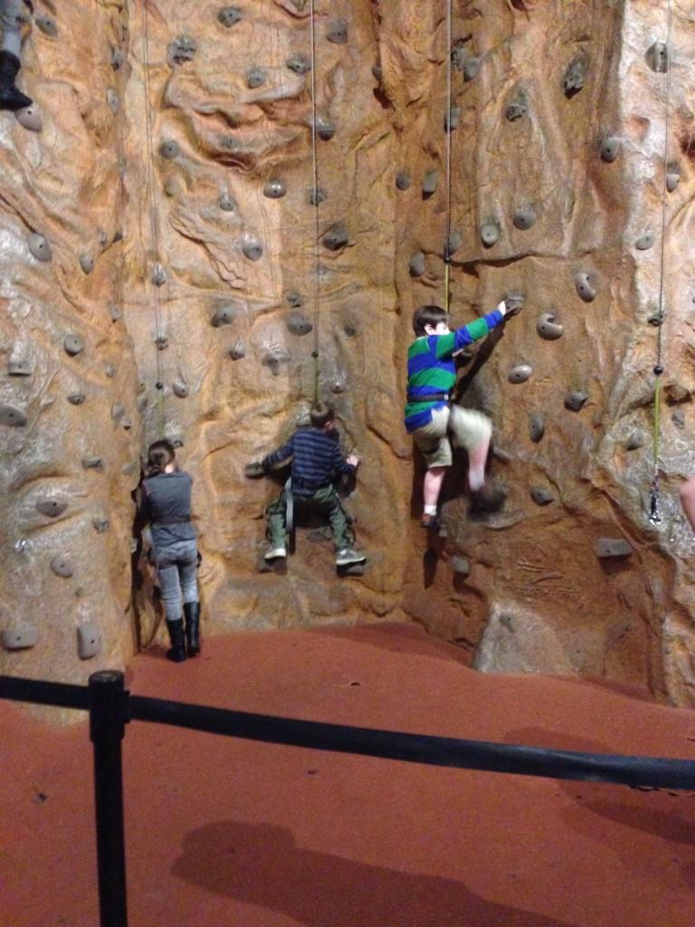 Rock Climbing at the U.S. Space & Rocket Center
