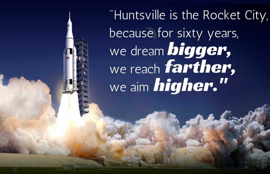 In Huntsville, we dream bigger.