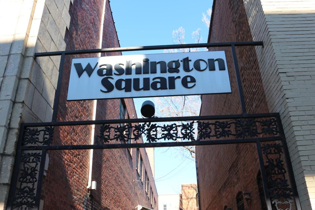 Washington Square in Downtown Huntsville