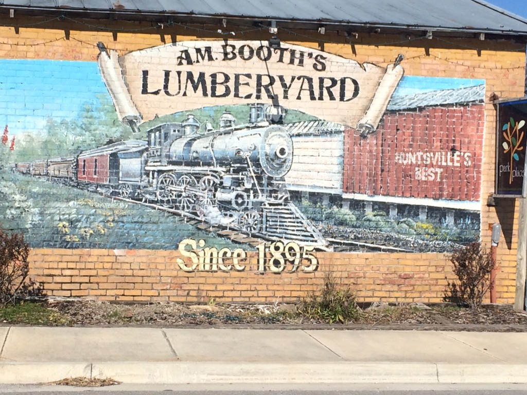 A.M. Booth's Lumberyard