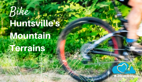 Bike Huntsville, Alabama's Mountain Terrain via iHeartHsv.com