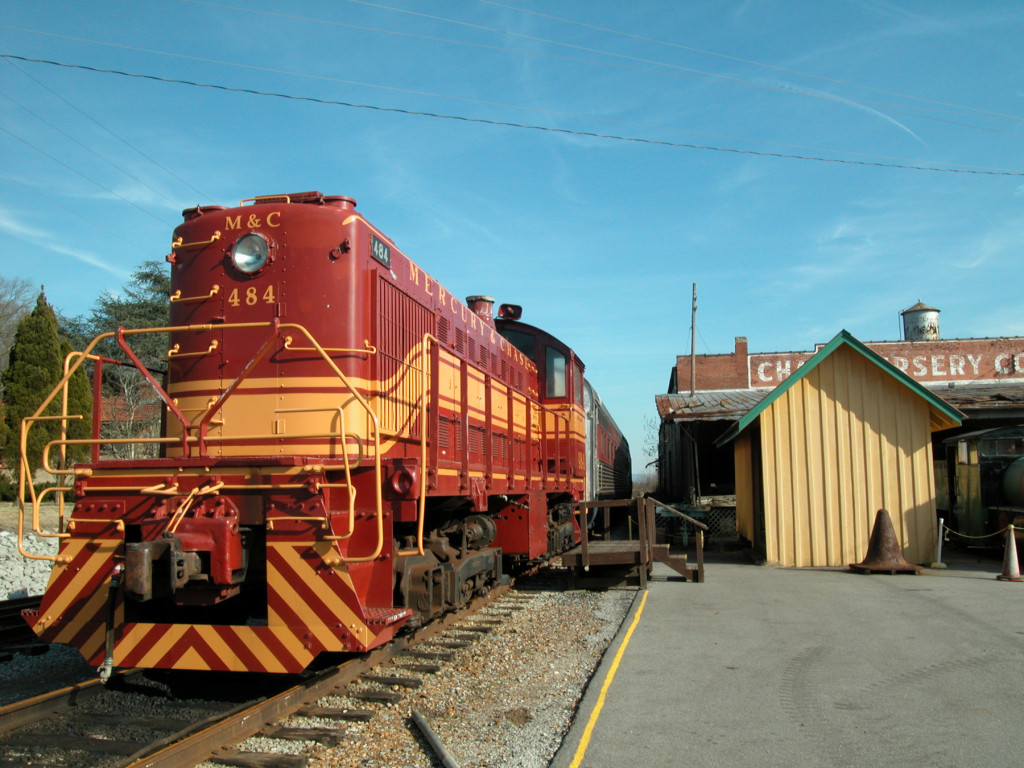 North Alabama Railroad Museum in Madison County, Alabama