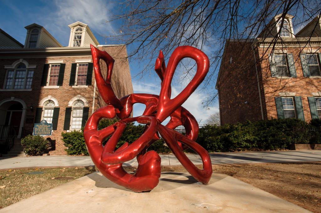 SPACES Sculpture Trail in Downtown Huntsville, Alabama via iHeartHsv.com