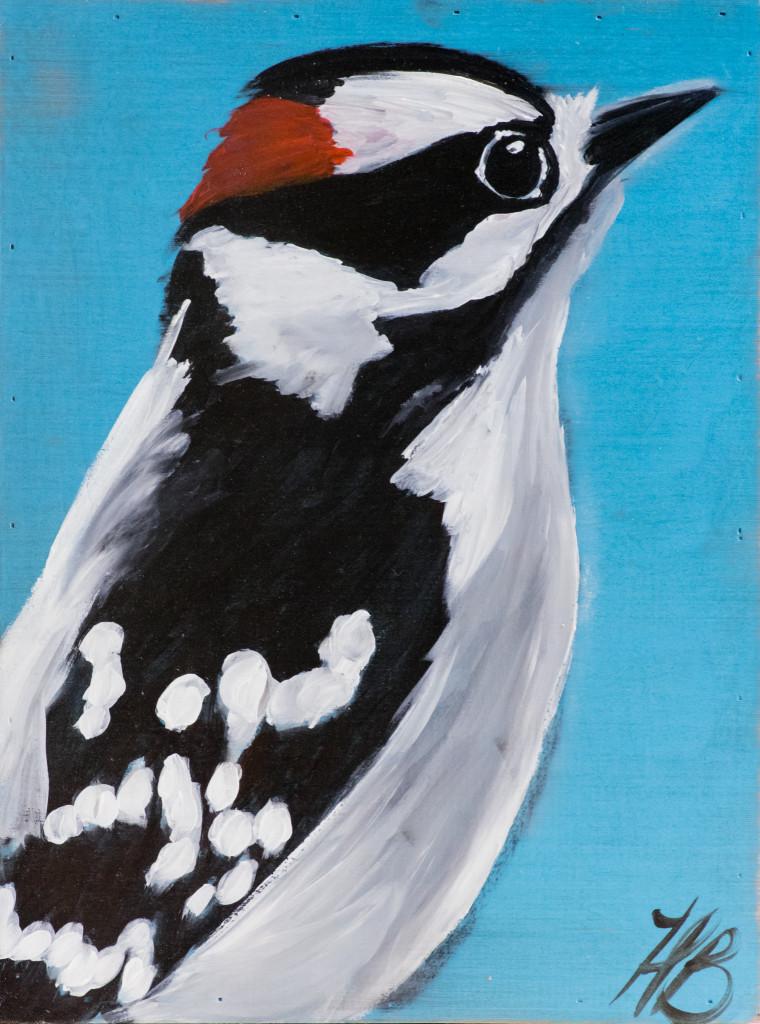 Heather Baumbach, acrylic painting