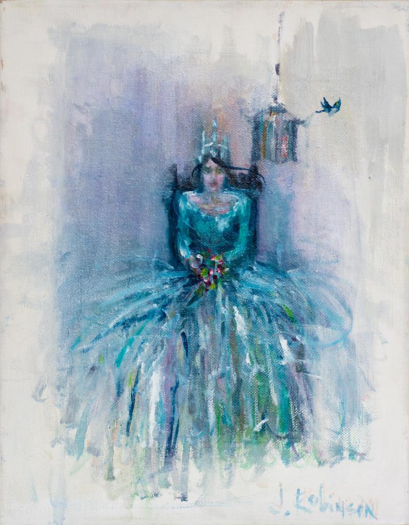 Julie Ann Robinson, oil painting