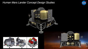 Rover Landing Concept Studies courtesy of Marshall Space Flight Center
