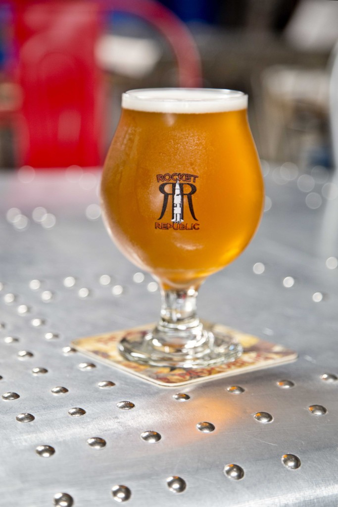 Rocket Republic Brewing's Terrestri-Ale Tripel via iHeartHsv.com