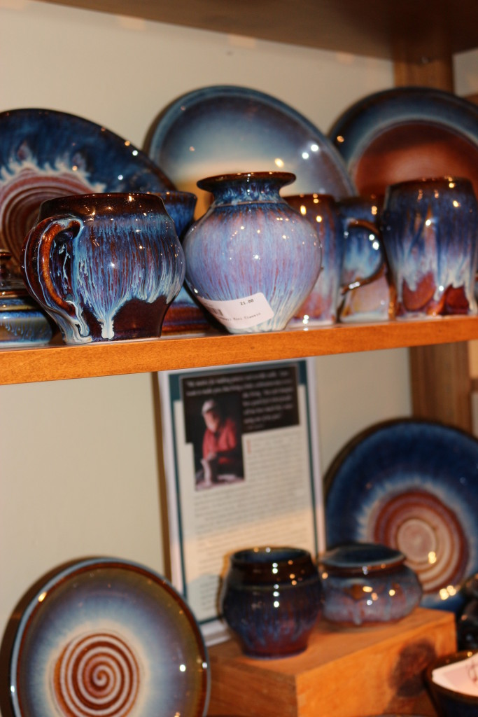 Pottery at Harrison Brothers Hardware in Huntsville, Alabama