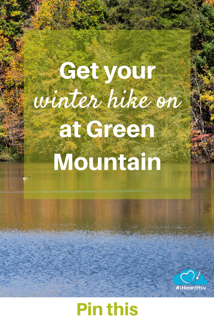 Get your winter hike on at Green Mountain in Huntsville, Alabama
