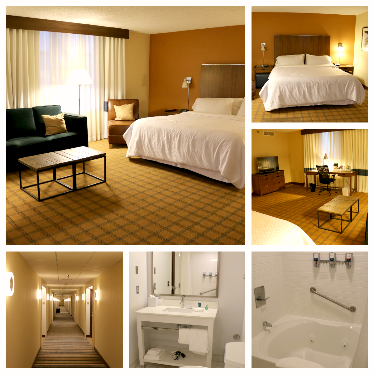 Four Points Sheraton at Huntsville International Airport in Huntsville, Alabama via iHeartHsv.com
