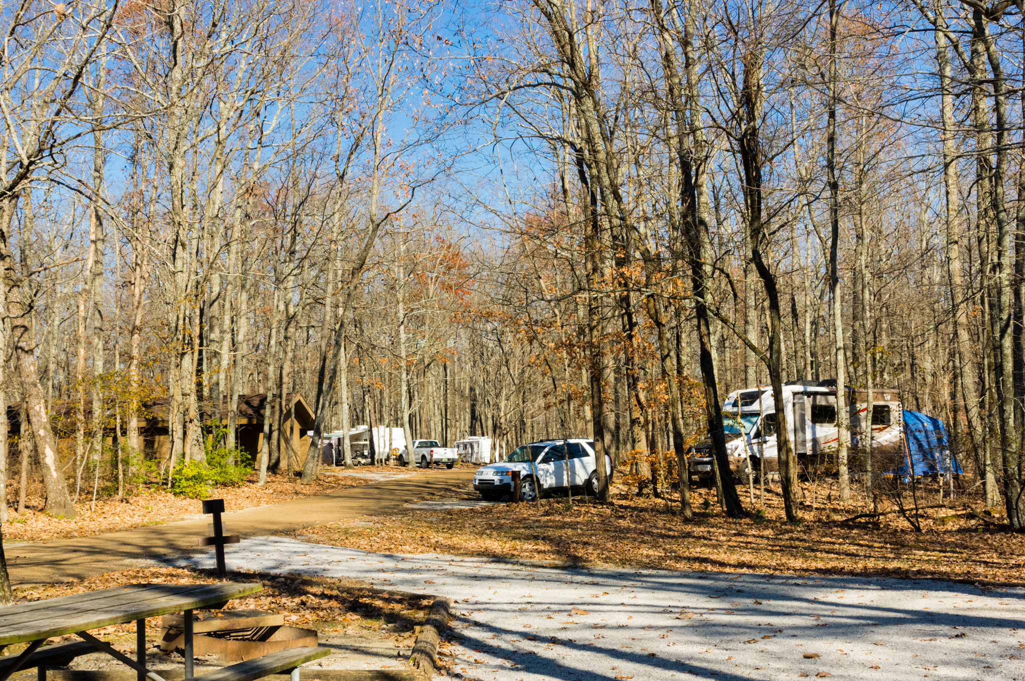 This is a photo of the RV Park on Monte Sano mountain