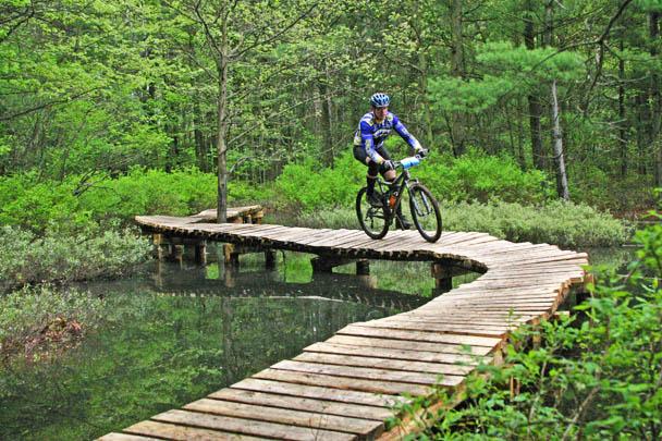 Pere Marquette Rail Trail - Biking