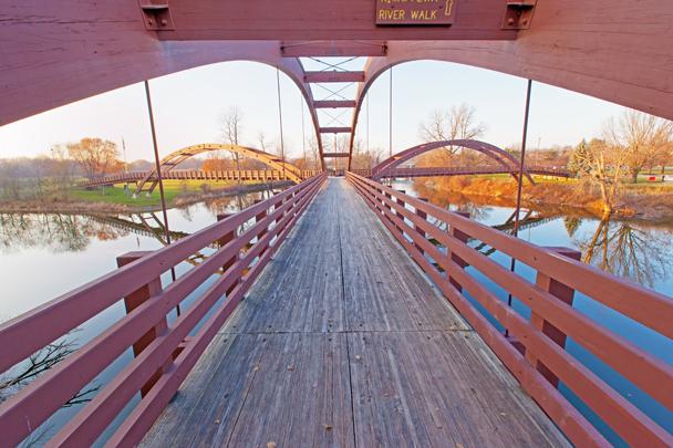 Pere Marquette Rail Trail - The Tridge