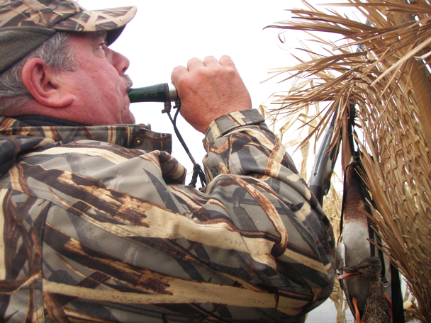 Waterfowl Hunting With Duck Call