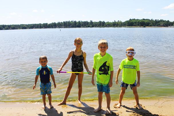 Scheper Family - Sanford Lake 1