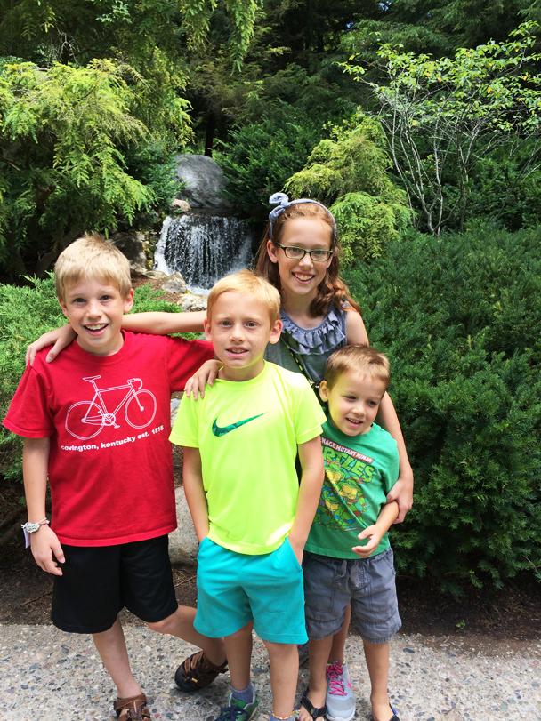 Scheper Family - Dow Gardens 2