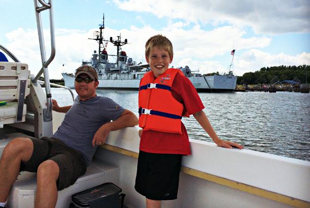Scheper Family - Boat Ride 1