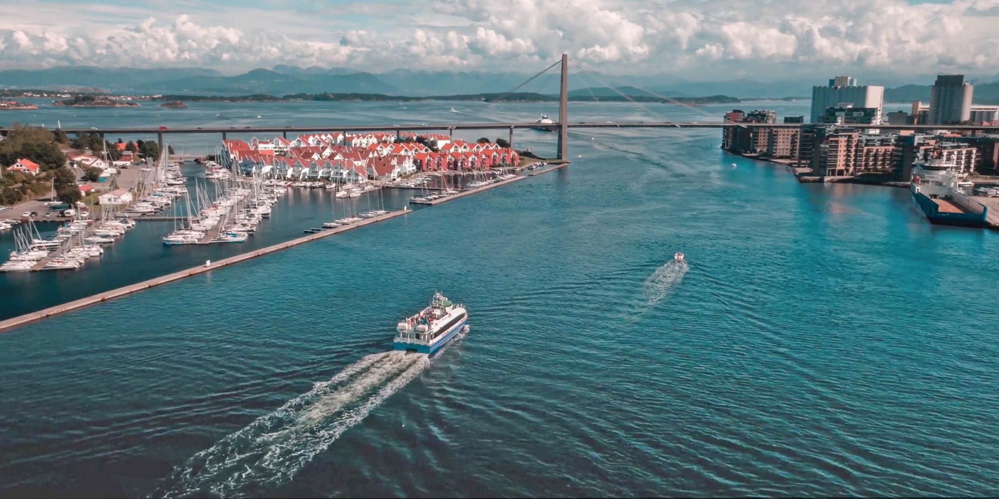 Stavanger La NorvègeLysefjordPreikestolen En Plage Et Sola xBrdeCoW