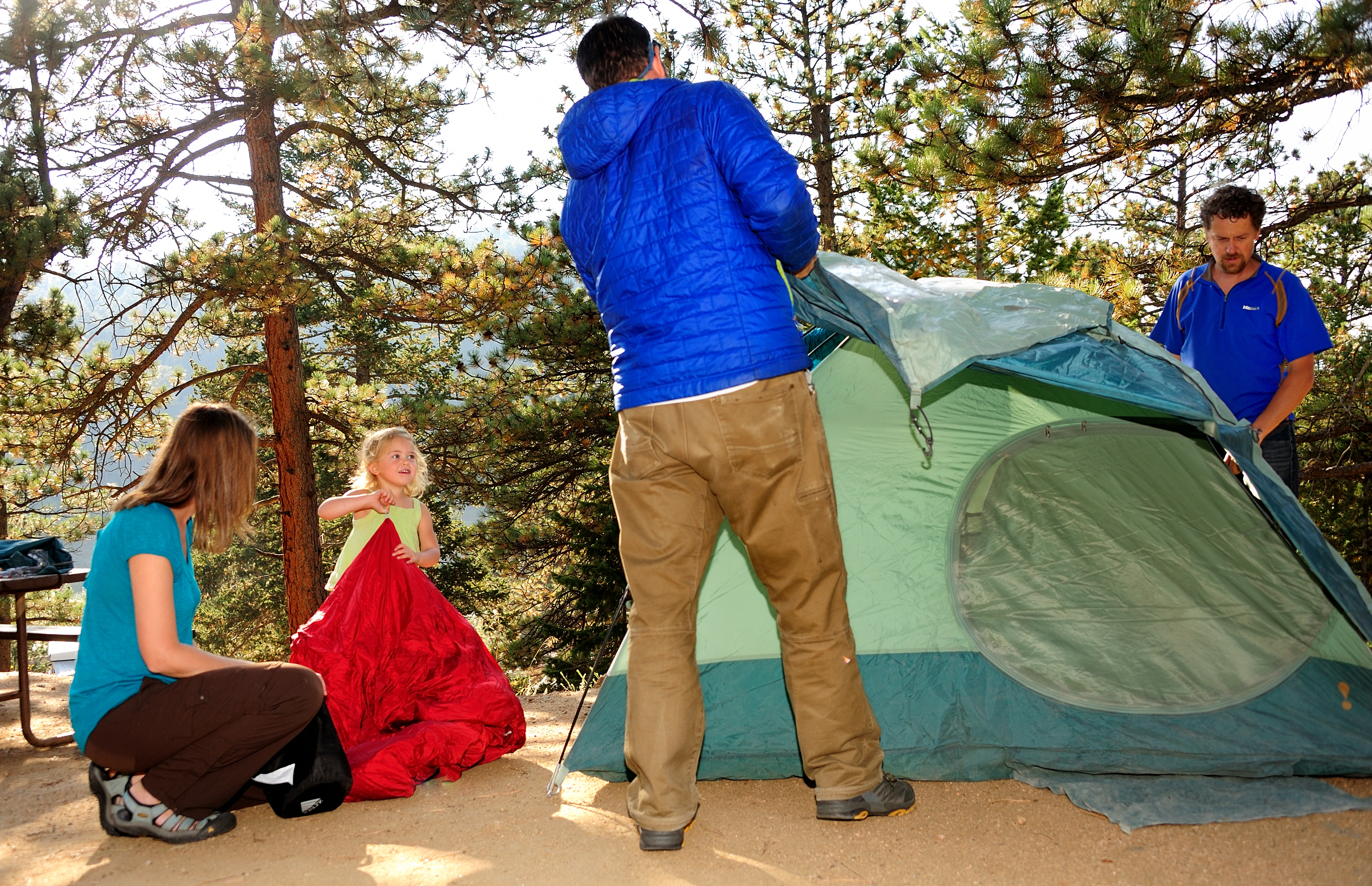 How to Camp in Estes Park
