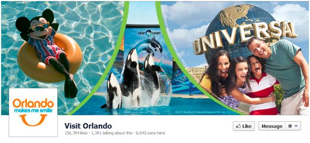 Facebook Cover Visit Orlando