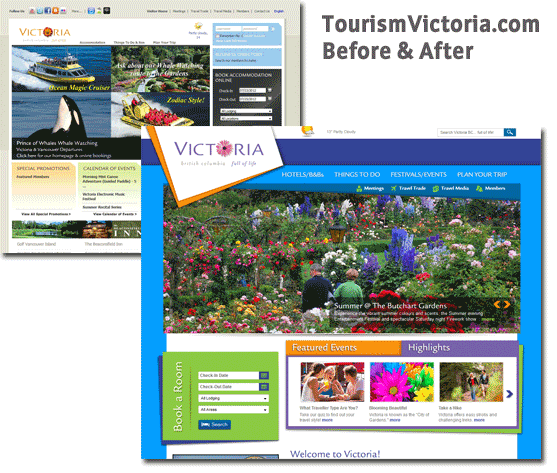 Tourism Victoria Before After 2012