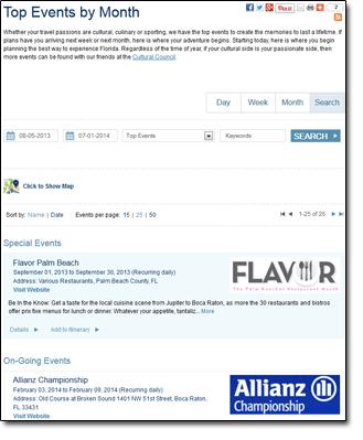 palmbeachfl.com Special Events
