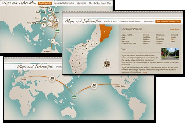 Guam Maps