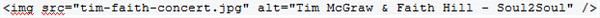 Code Example of Alt Attribute