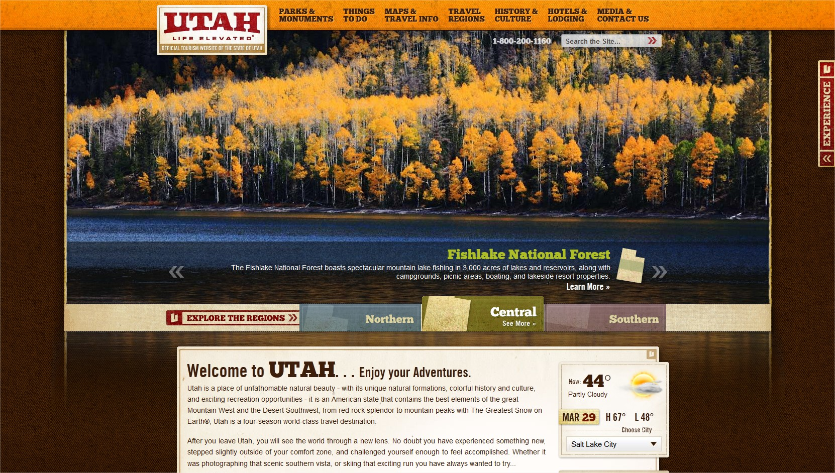 Utah Tourism Website - March 2012 - Summer Imagery
