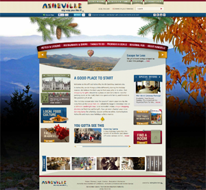 Asheville homepage