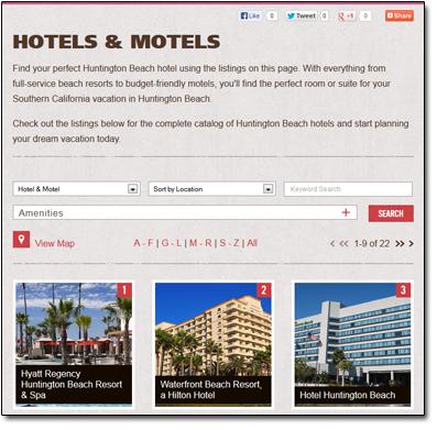 Huntington Beach Hotels