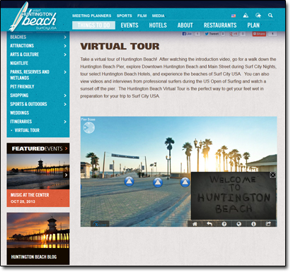 Huntington Beach Virtual Tour