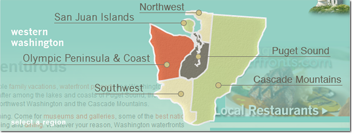 Washington Waterfronts Map