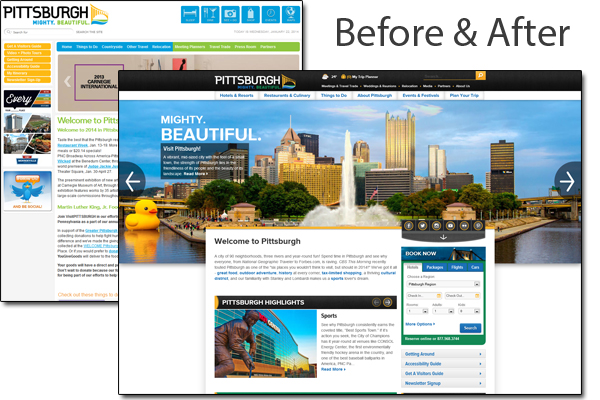 Pittsburgh Before and After