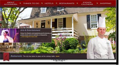 Alexandria Home Interactive Header