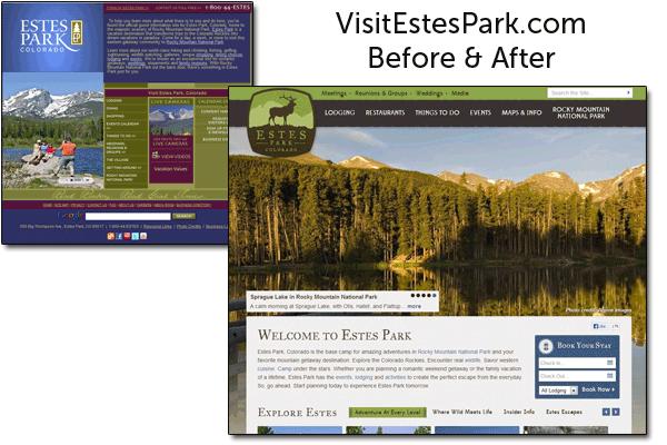 Estes Park 2013 Before After