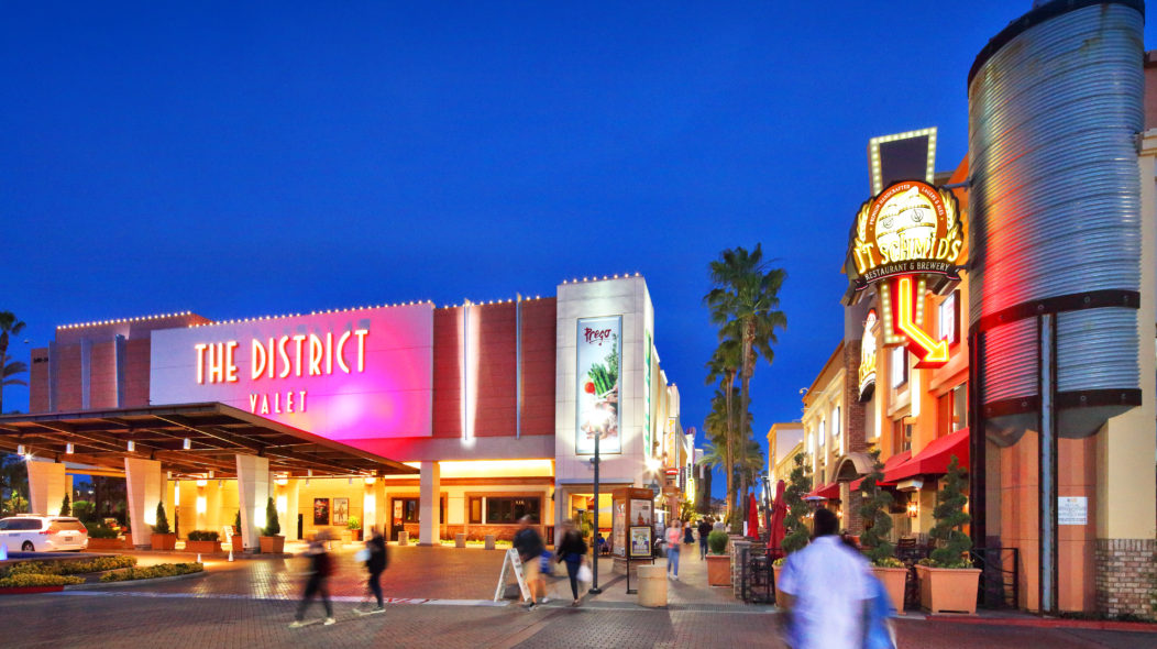 The District At Tustin Legacy In Irvine Shopping Dining