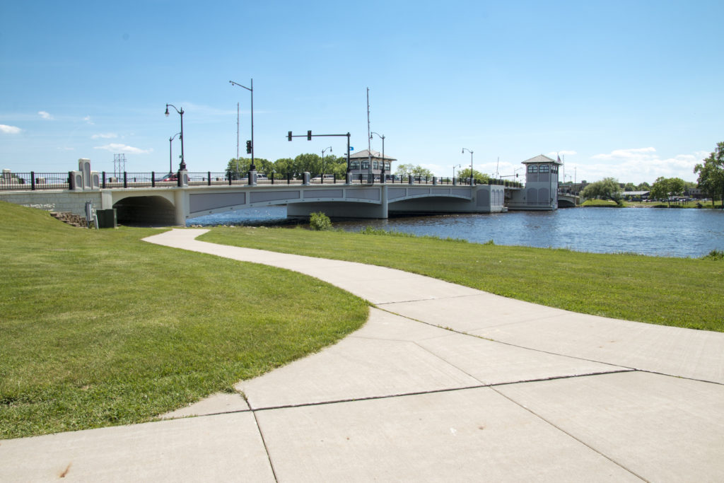 Oshkosh Riverwalk Wisconsin