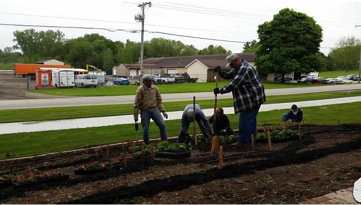 Elkhart County 4-H Fair Quilt Garden