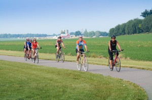 Bicyclists in the Middlebury area may soon have a new trail to use after the state of Indiana awarded a grant for construction of the Ridge Run Trail.